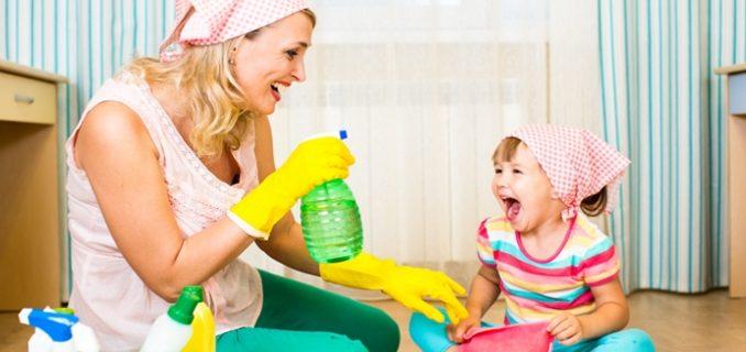 Faccende domestiche per i bambini a seconda dell 39 et for Faccende domestiche in inglese
