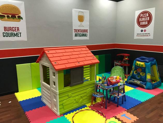 Menu kids gratuito e laboratorio pizza per i bambini for Laboratorio di garage domestico