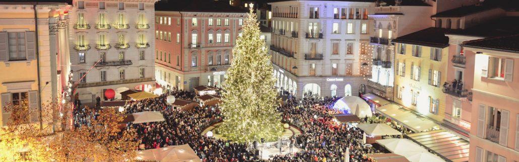 Lugano Natale.Natale In Piazza A Lugano Como Per I Bambini
